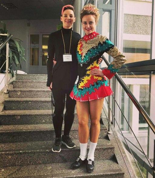 Ирина Лебедева и Татьяна Козырева