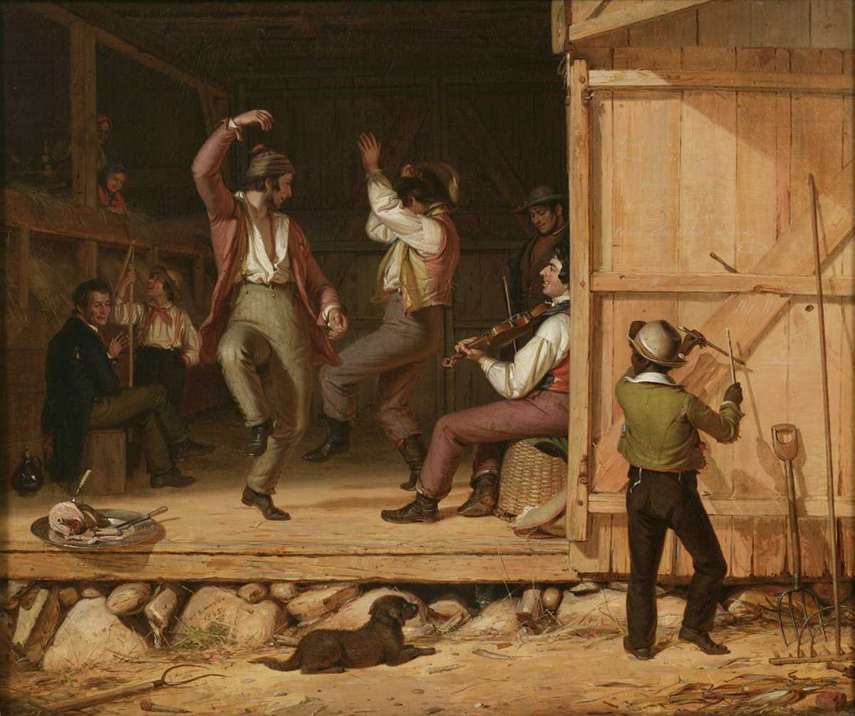 Dance of the Haymakers, William Sidney Mount, 1845 (The Long Island Museum)